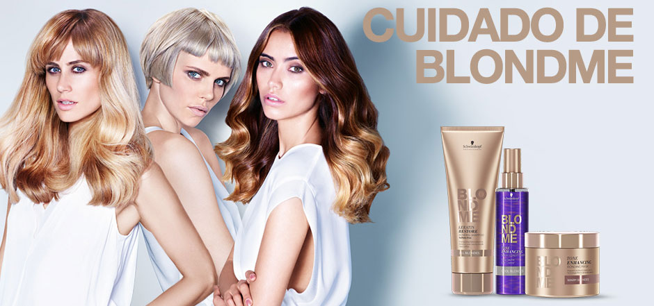 Productos de cuidado Blondme